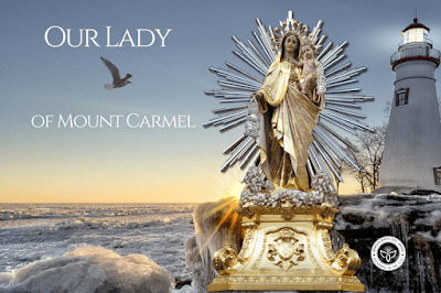 The devotion and prayers of our lady of mount Carmel