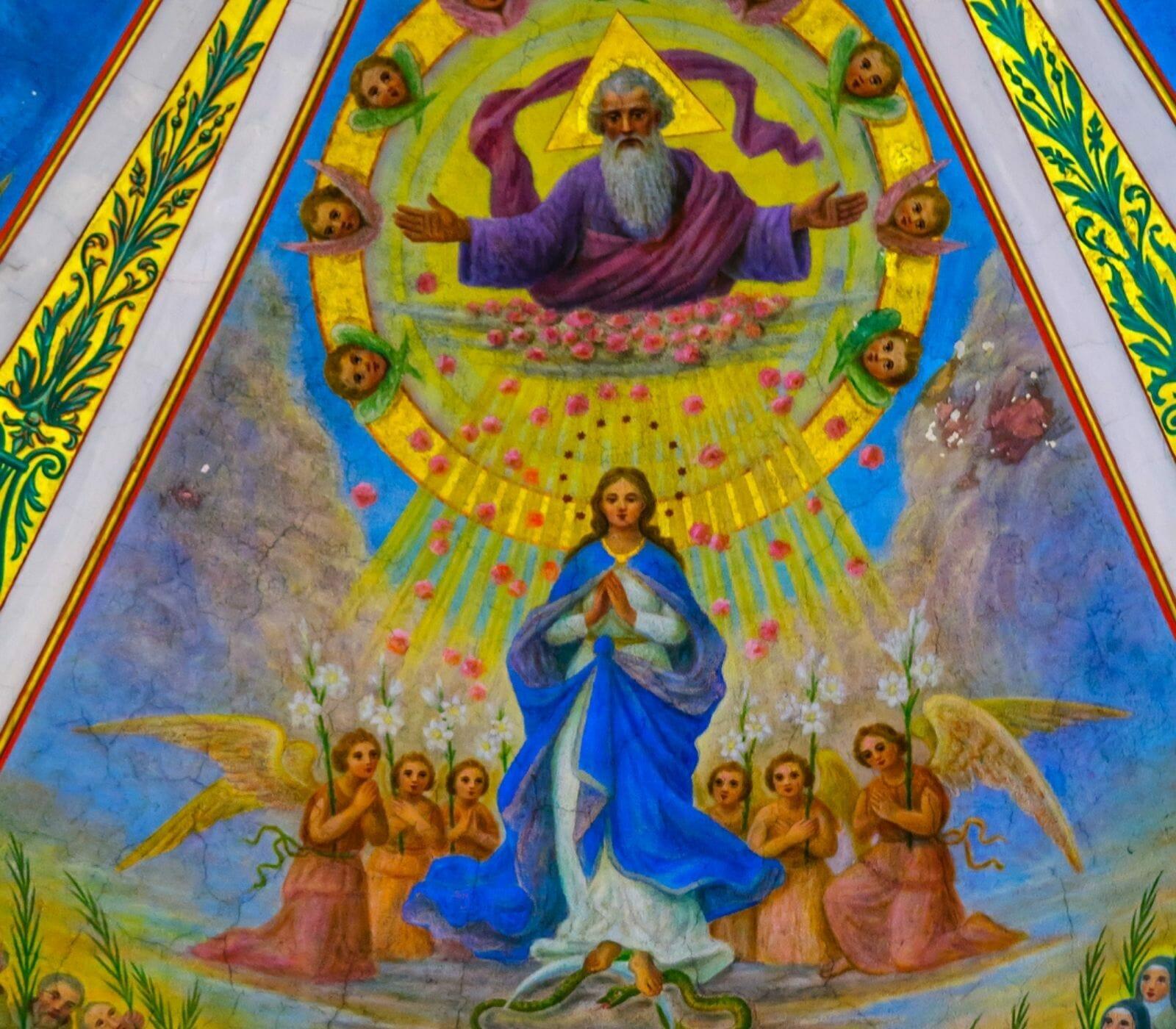 The devotion of Mount Carmel